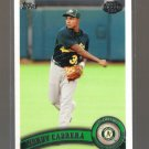 2011 Topps Pro Debut  #96  YORDY CABRERA   A's