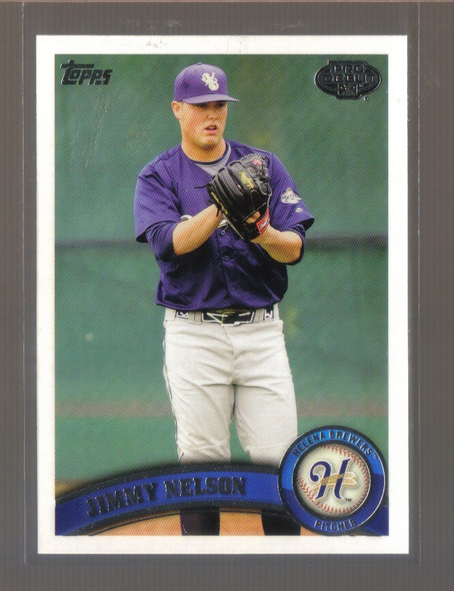 2011 Topps Pro Debut  #113  JIMMY NELSON   Brewers