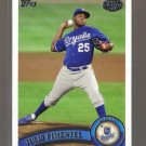 2011 Topps Pro Debut  #129  JULIO PIMENTEL   Royals