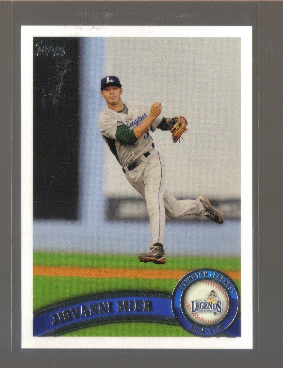 2011 Topps Pro Debut  #156  JIOVANNI MIER   Astros