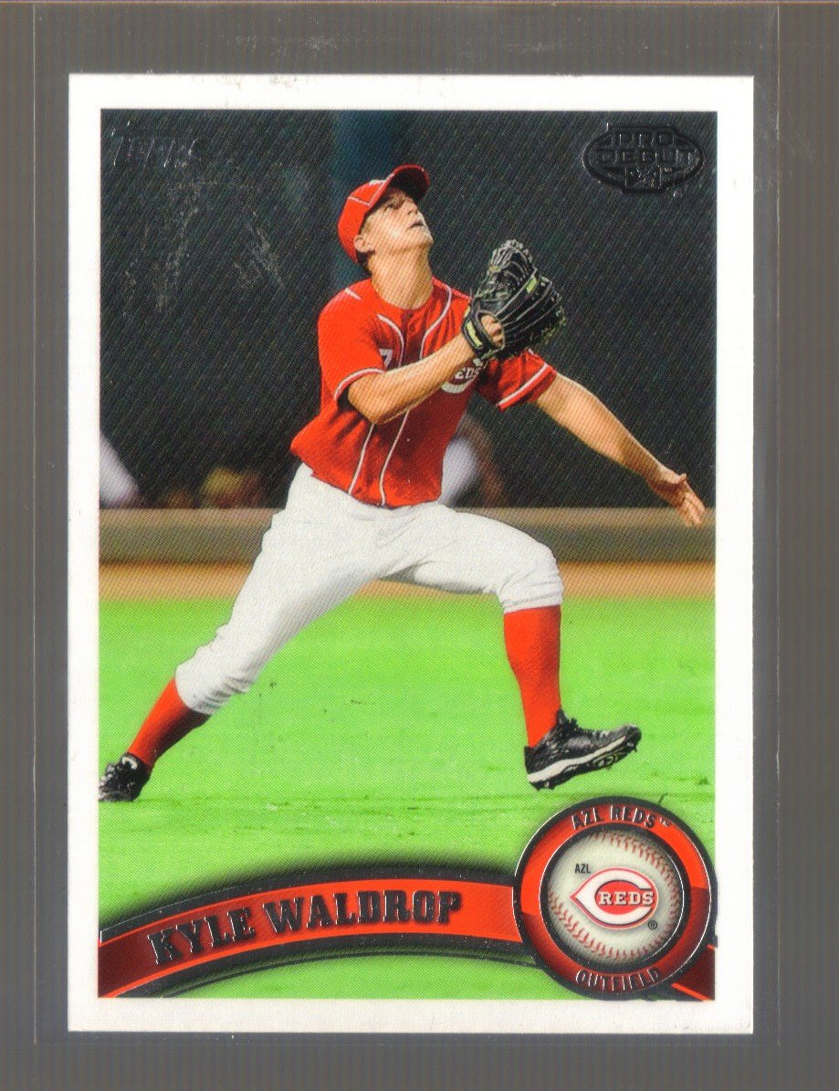 2011 Topps Pro Debut  #173  KYLE WALDROP   Reds