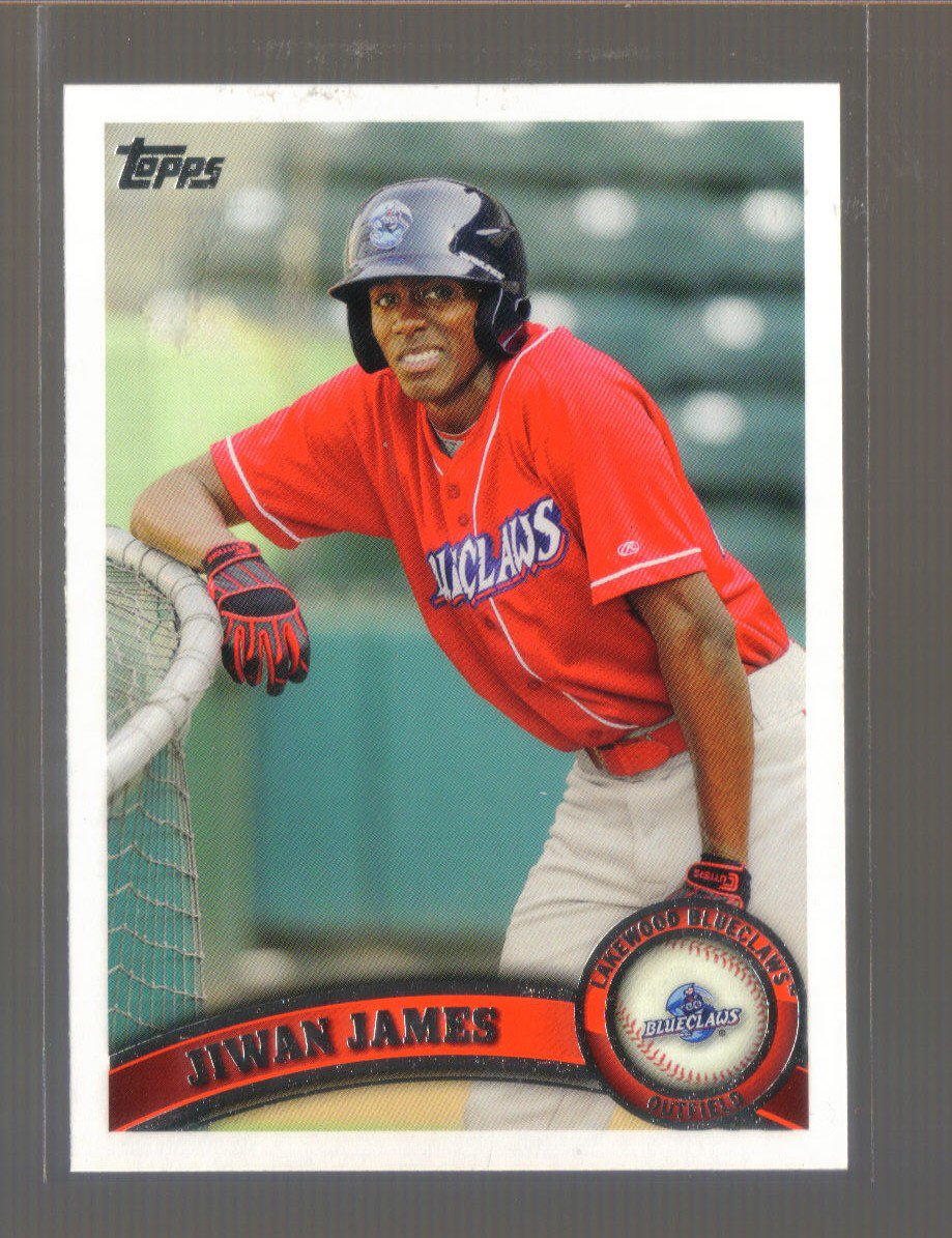 2011 Topps Pro Debut  #193  JIWAN JAMES   Phillies