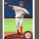 2011 Topps Pro Debut  #208  JUNIOR ARIAS   Reds