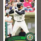2011 Topps Pro Debut  #218  MAX STASSI   A's