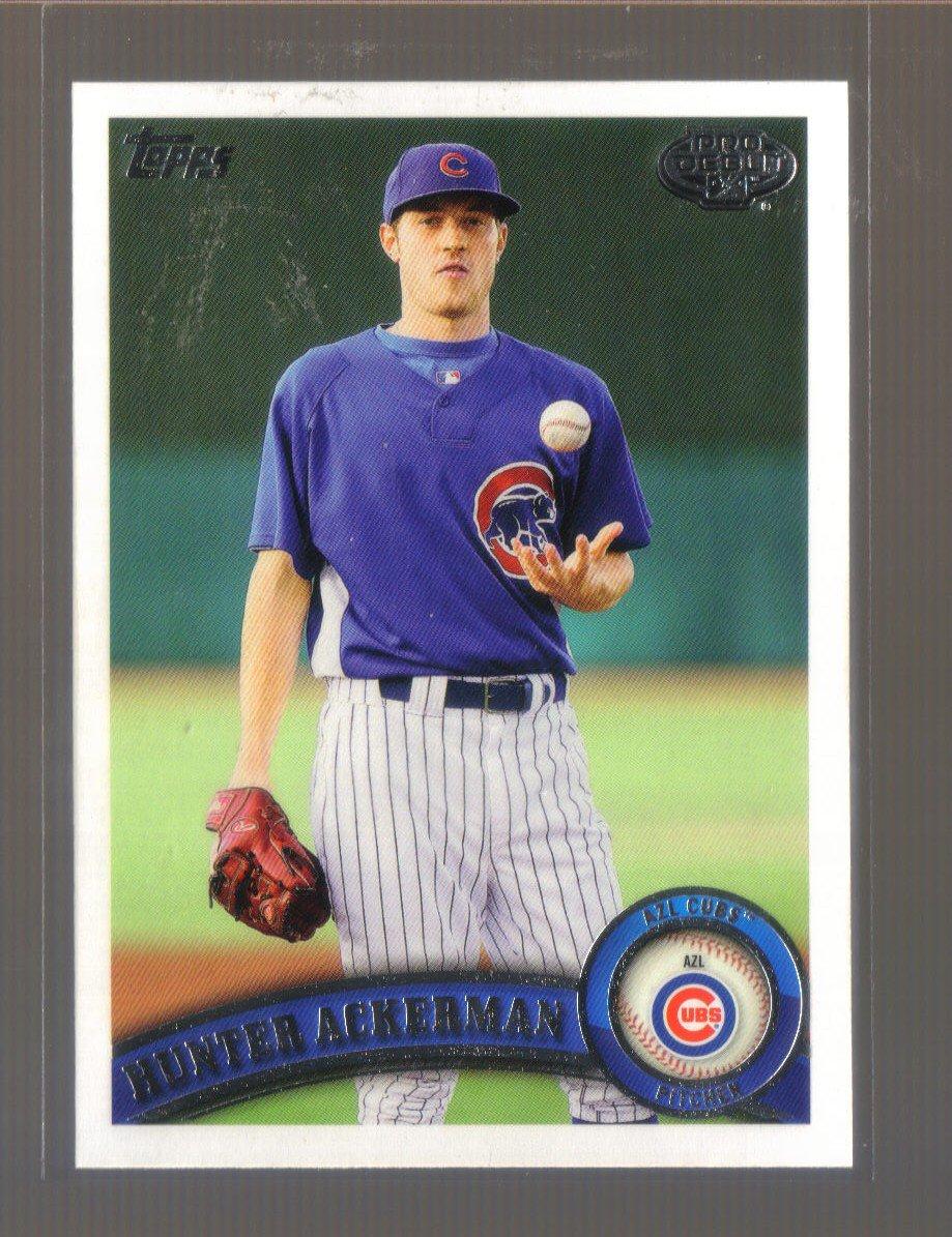 2011 Topps Pro Debut  #222  HUNTER ACKERMAN   Cubs