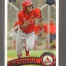 2011 Topps Pro Debut  #273  SAM TUIVAILALA   Cardinals