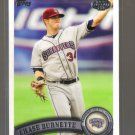 2011 Topps Pro Debut  #298  CHASE BURNETTE   Indians