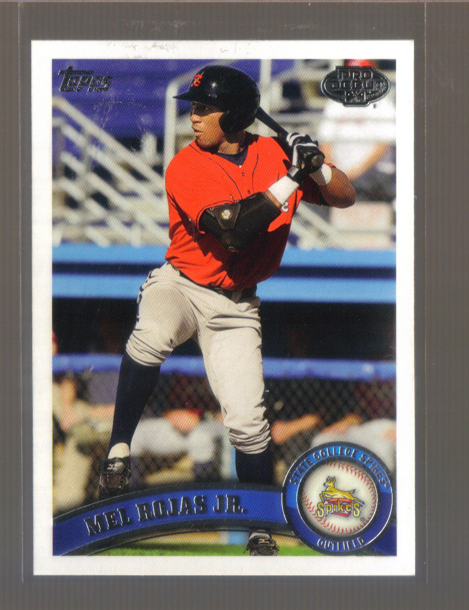 2011 Topps Pro Debut  #308  MEL ROJAS Jr.   Pirates