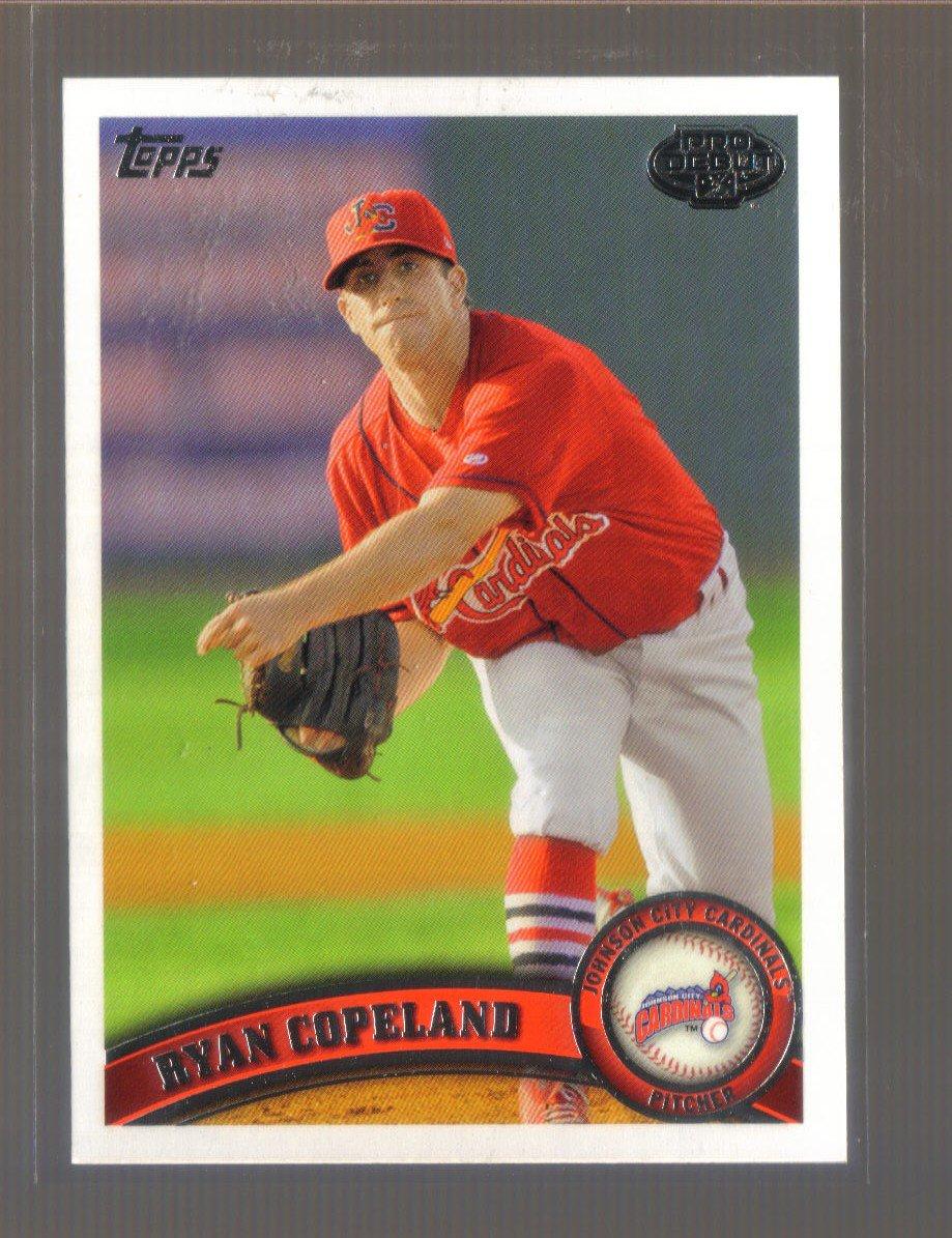 2011 Topps Pro Debut  #328  RYAN COPELAND   Cardinals