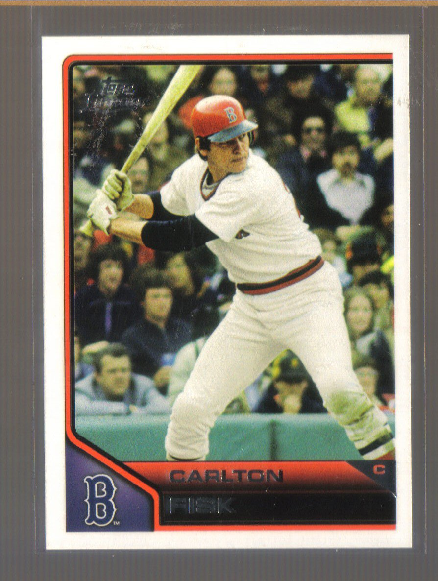 2011 Topps Lineage  #48  CARLTON FISK   Red Sox