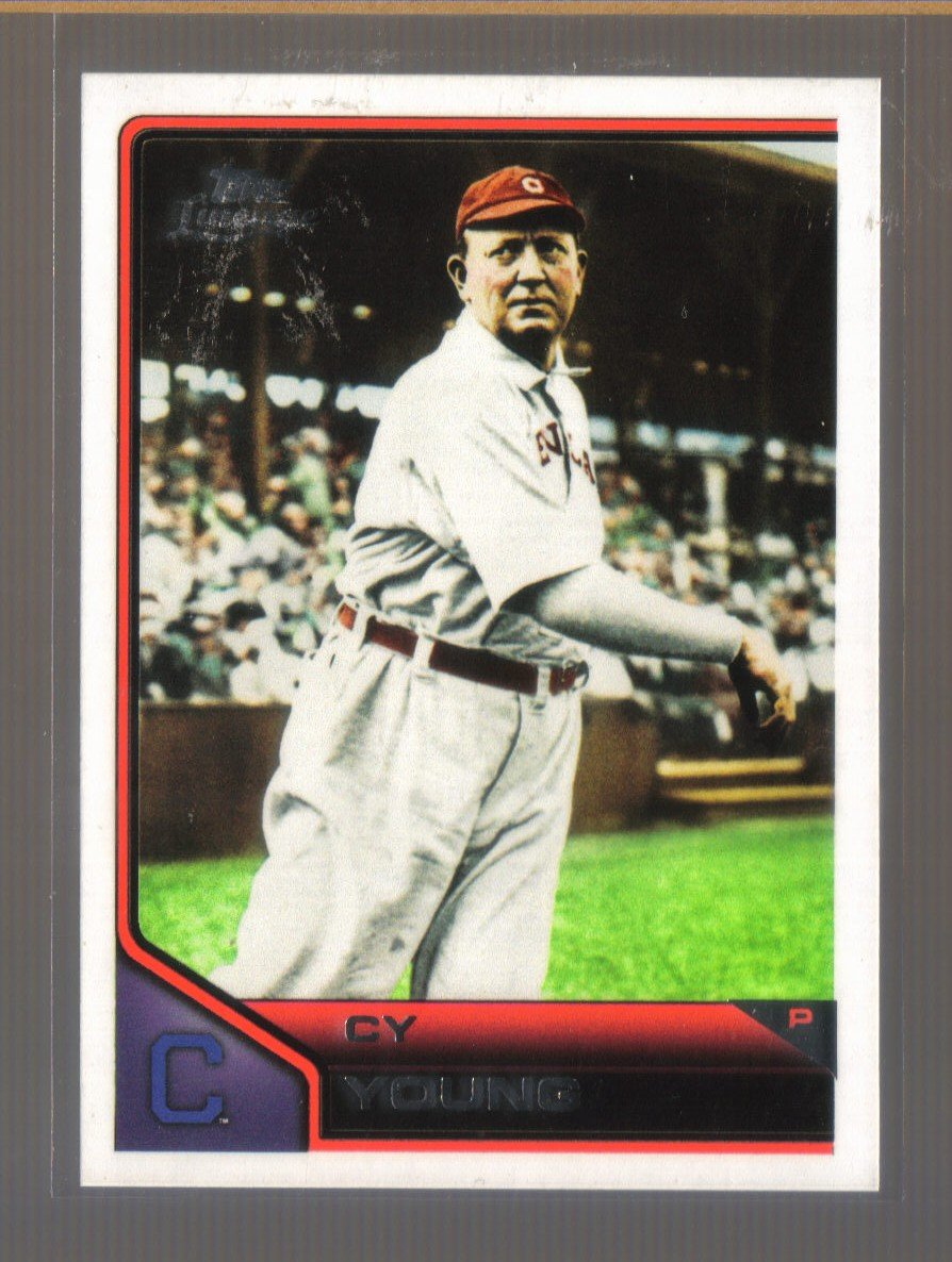 2011 Topps Lineage  #106  CY YOUNG   Spiders