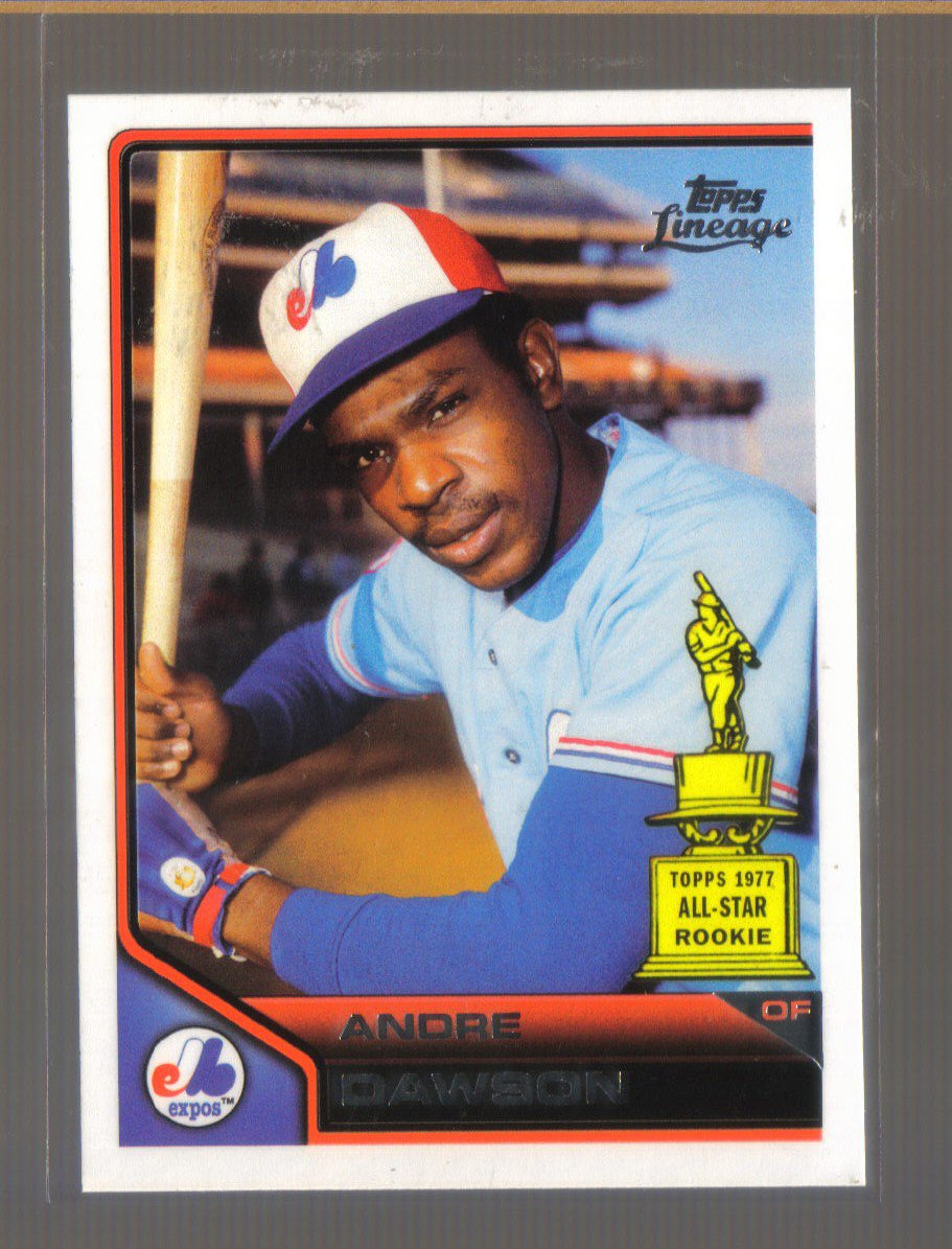 2011 Topps Lineage  #197  ANDRE DAWSON   Expos