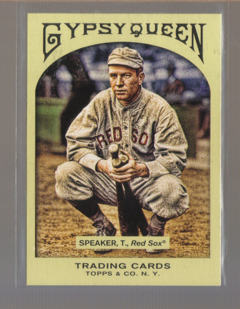 2011 Topps Gypsy Queen  #5  TRIS SPEAKER   Red Sox