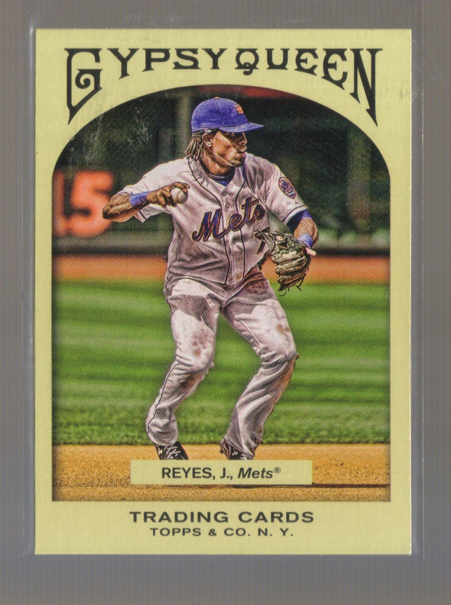 2011 Topps Gypsy Queen  #42  JOSE REYES   Mets