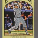 2011 Topps Gypsy Queen  #102  JORGE POSADA   Yankees