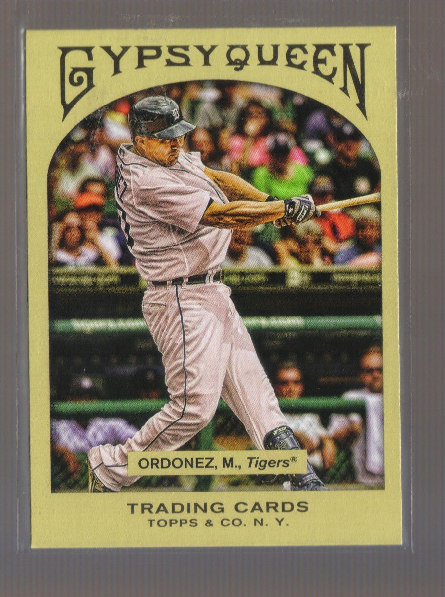2011 Topps Gypsy Queen  #103  MAGGLIO ORDONEZ   Tigers
