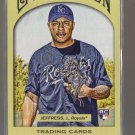 2011 Topps Gypsy Queen  #115  JEREMY JEFFRESS  RC  Royals