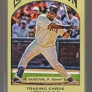 2011 Topps Gypsy Queen  #133  PABLO SANDOVAL   Giants