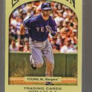 2011 Topps Gypsy Queen  #151  MICHAEL YOUNG    Rangers