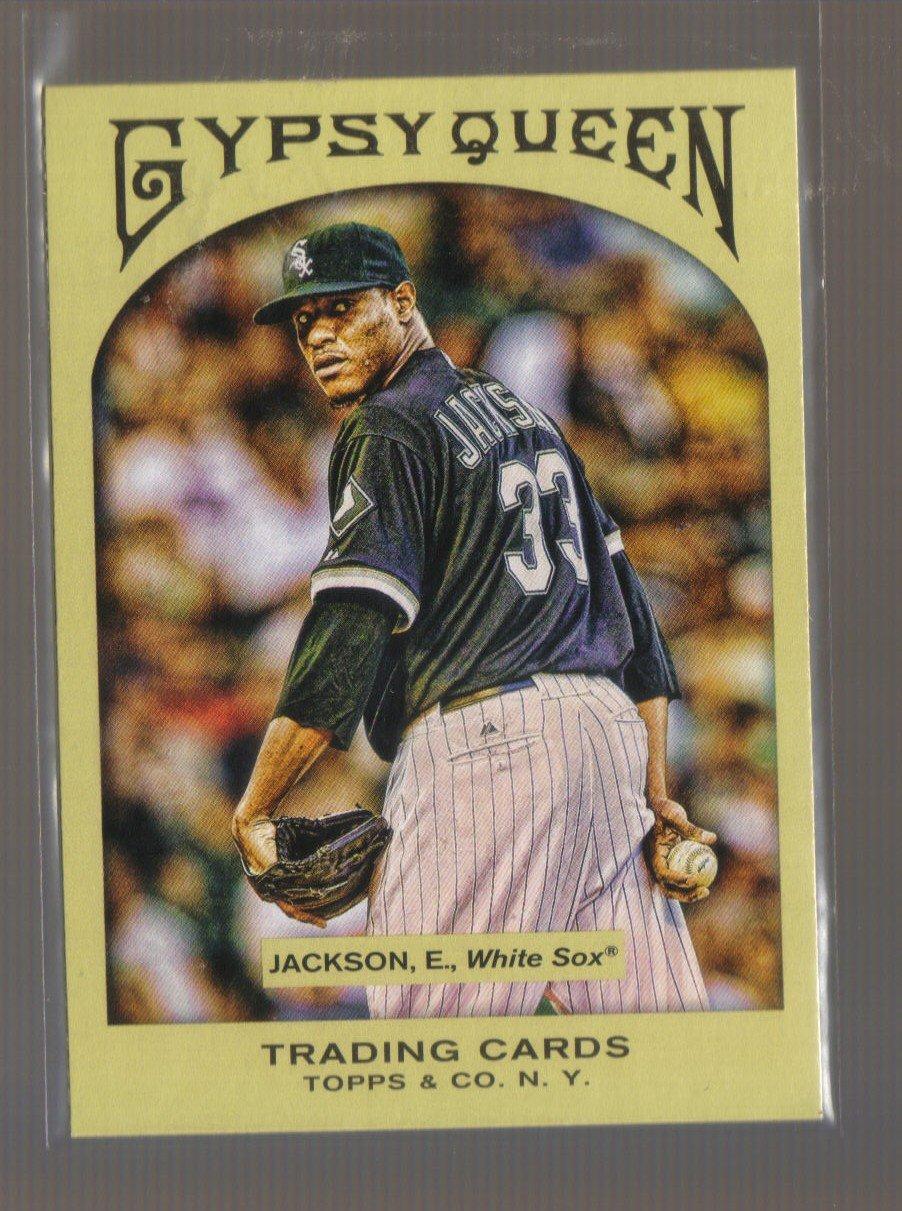 2011 Topps Gypsy Queen  #175  EDWIN JACKSON    White Sox