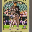 2011 Topps Gypsy Queen  #188  CHRIS SALE  RC  White Sox