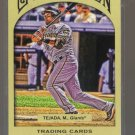 2011 Topps Gypsy Queen  #212  MIGUEL TEJADA    Giants