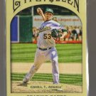 2011 Topps Gypsy Queen  #215  TREVOR CAHILL    A's