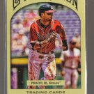 2011 Topps Gypsy Queen  #221  MARTIN PRADO   Braves