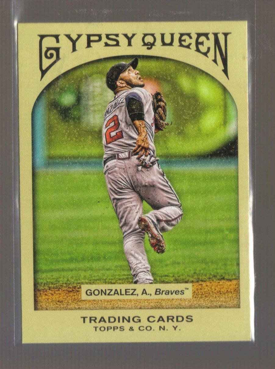 2011 Topps Gypsy Queen  #229  ALEX GONZALEZ    Braves
