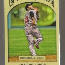 2011 Topps Gypsy Queen  #229  ALEX GONZALEZ    Braves