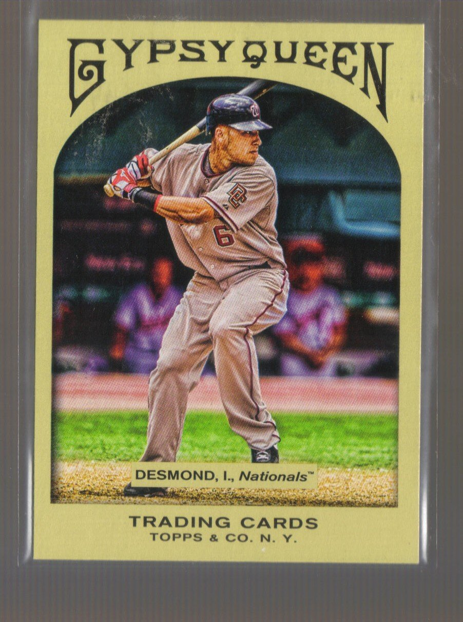2011 Topps Gypsy Queen  #230  IAN DESMOND    Nationals