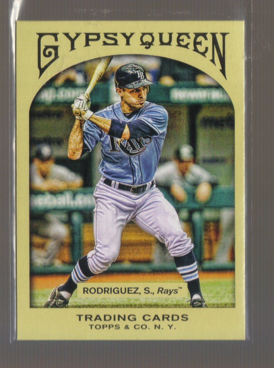 2011 Topps Gypsy Queen  #234  SEAN RODRIGUEZ    Rays