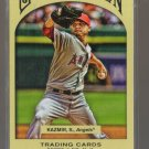 2011 Topps Gypsy Queen  #244  SCOTT KAZMIR    Angels