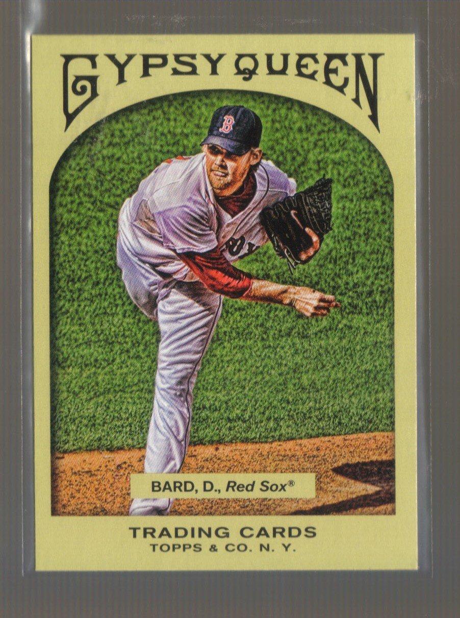2011 Topps Gypsy Queen  #261  DANIEL BARD    Red Sox