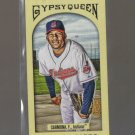 2011 Topps Gypsy Queen Mini Red Gypsy Back  #240  FAUSTO CARMONA   Indians