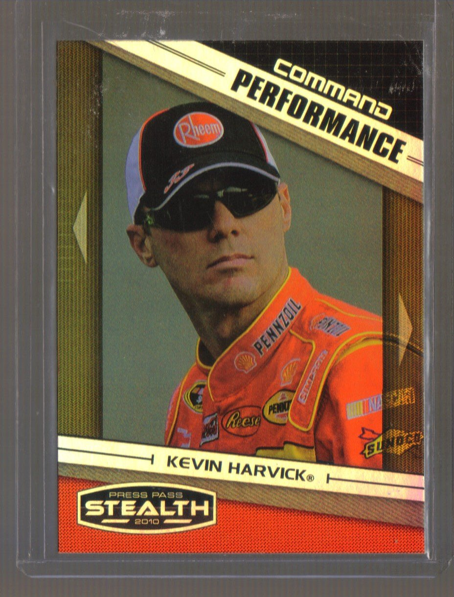 2010 Press Pass Stealth Command Performance  #75 KEVIN HARVICK  Nascar
