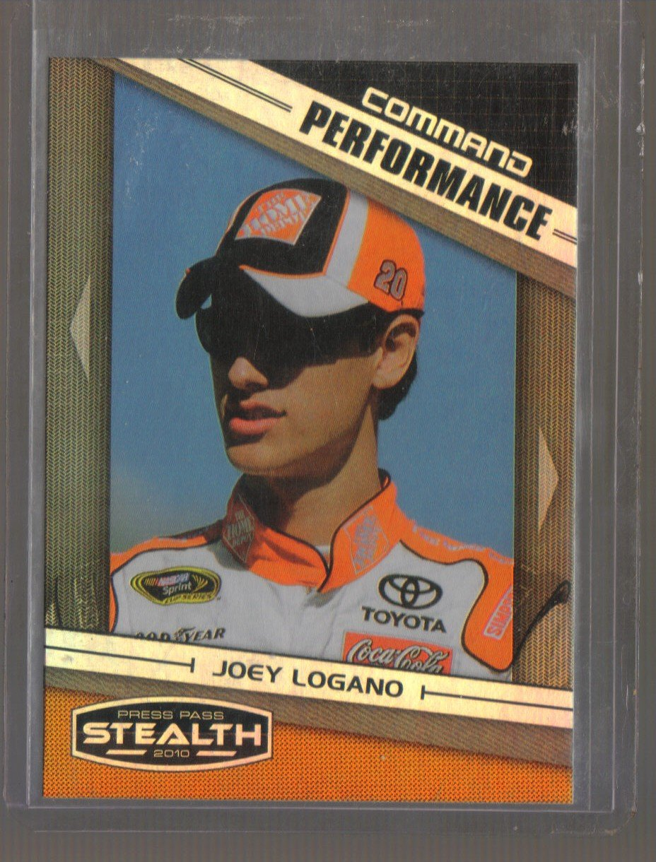 2010 Press Pass Stealth Command Performance  #79  JOEY LOGANO   Nascar