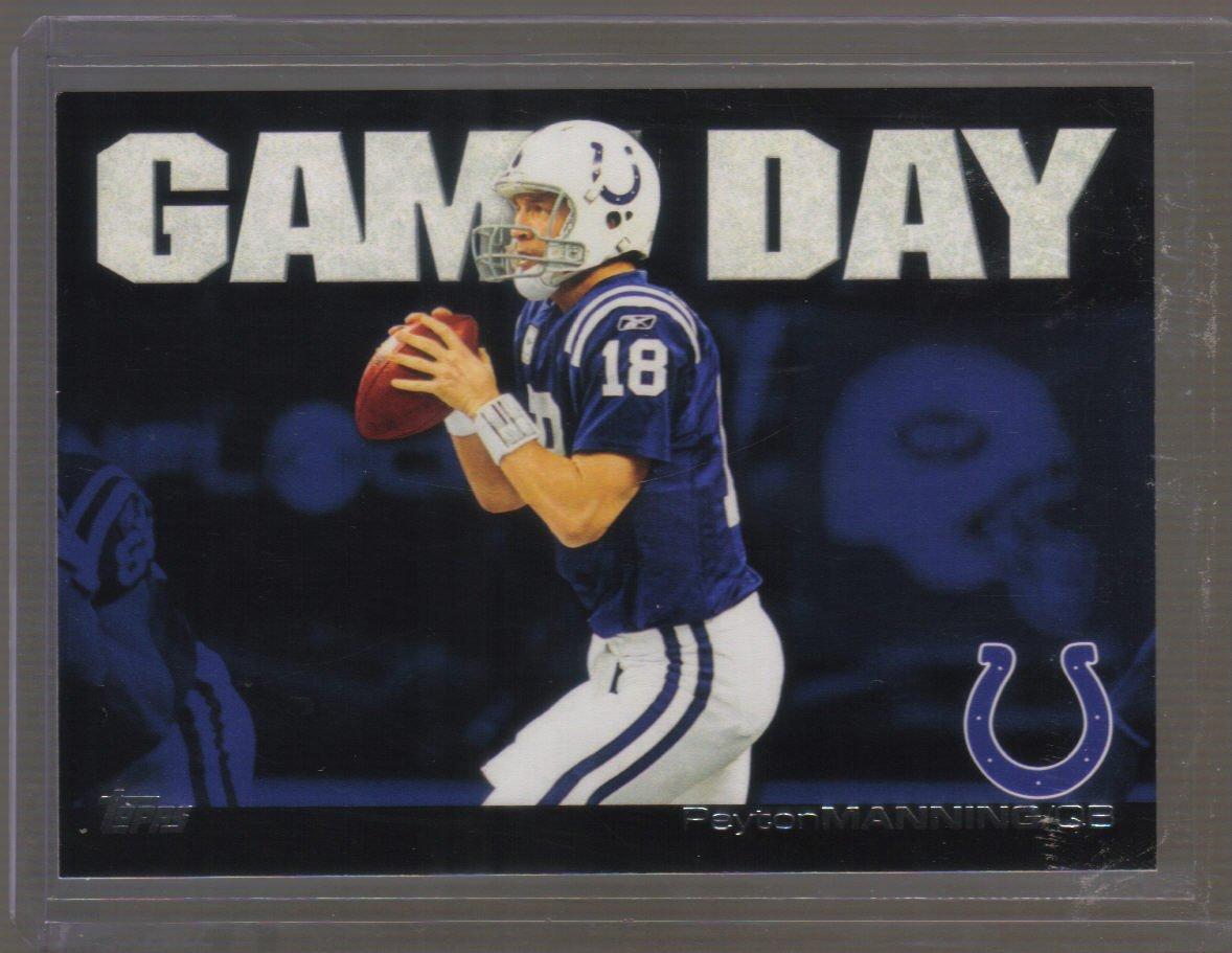 2011 Topps Game Day #PM  PEYTON MANNING    Colts