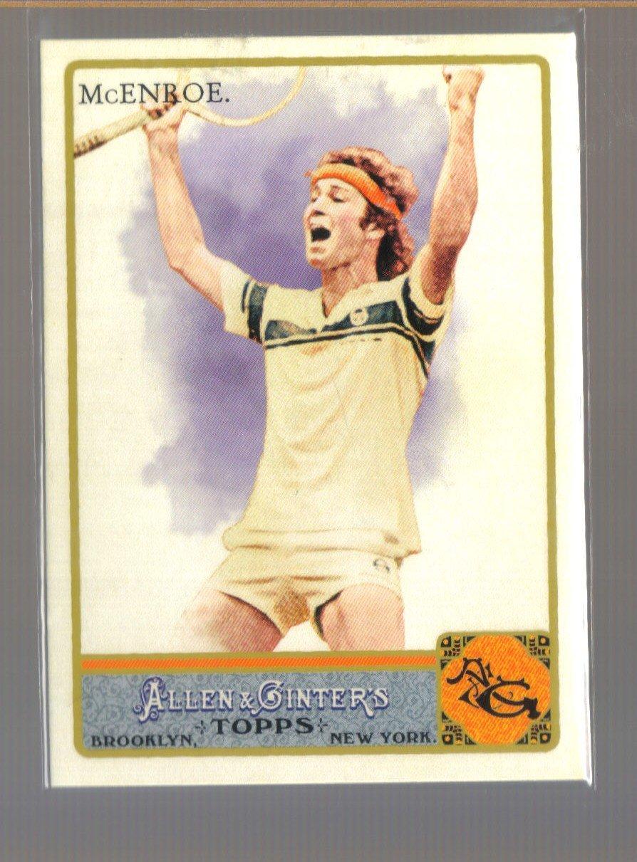 2011 Topps Allen & Ginter  #40  JOHN McENROE   Men's Tennis