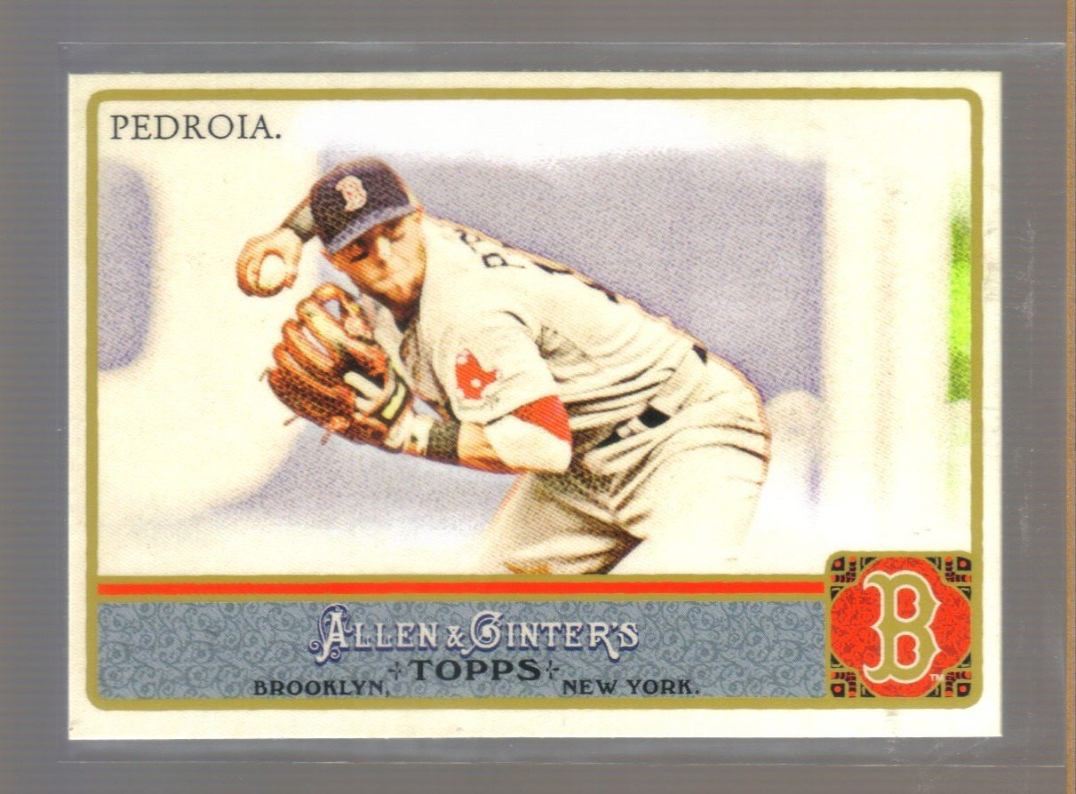 2011 Topps Allen & Ginter  #55  DUSTIN PEDROIA    Red Sox