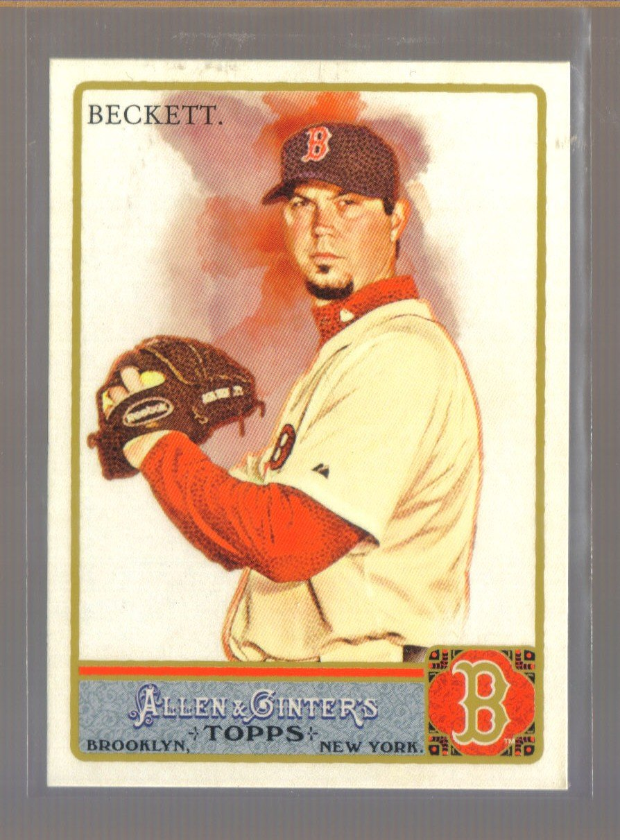 2011 Topps Allen & Ginter  #116  JOSH BECKETT    Red Sox