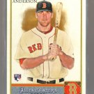 2011 Topps Allen & Ginter  #149  LARS ANDERSON  RC   Red Sox