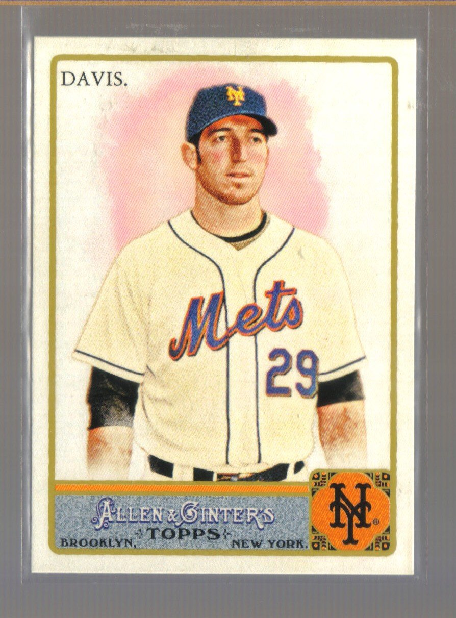 2011 Topps Allen & Ginter  #241  IKE DAVIS    Mets