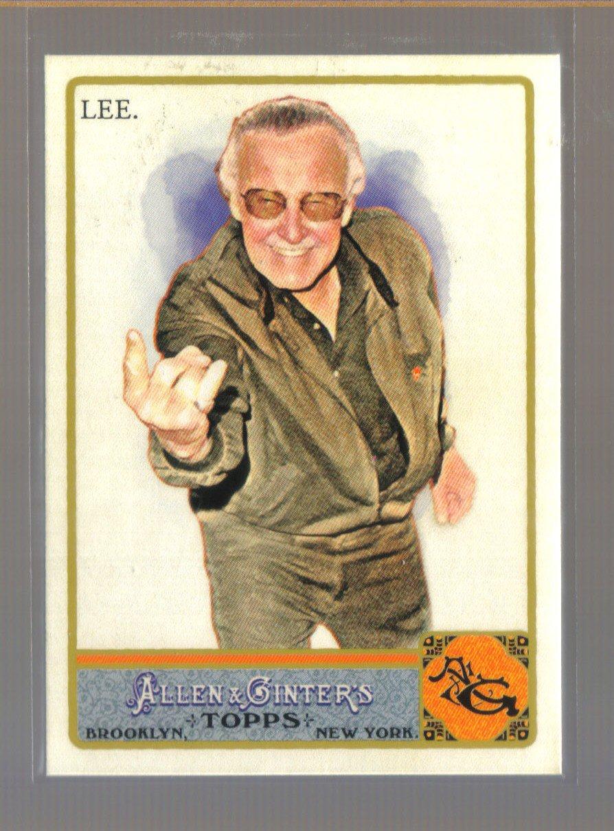 2011 Topps Allen & Ginter  #274  STAN LEE   Marvel Comics