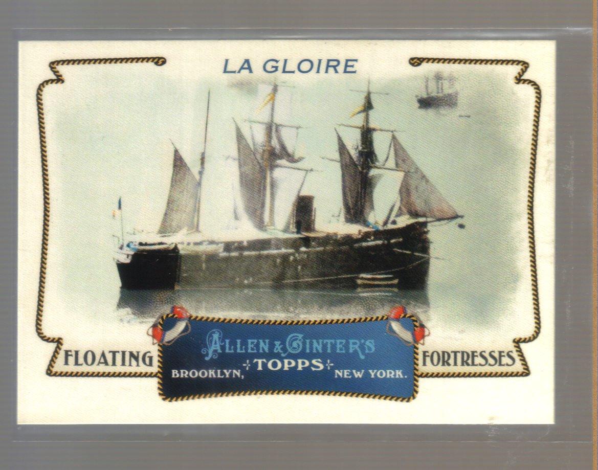 2011 Topps Allen & Ginter Floating Fortresses  #12  LA GLOIRE