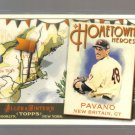 2011 Topps Allen & Ginter Hometown Heroes  #14  CARL PAVANO    Twins