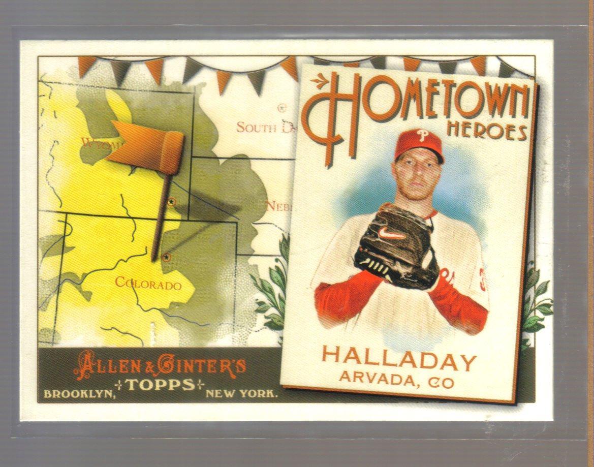 2011 Topps Allen & Ginter Hometown Heroes  #32  ROY HALLADAY    Phillies