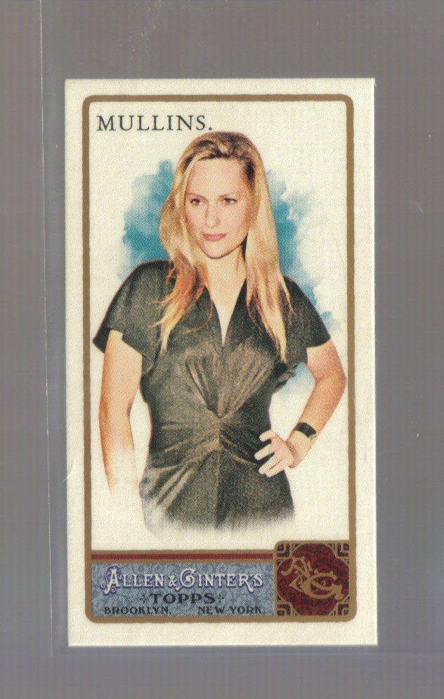 2011 Topps Allen & Ginter Mini  #79  AIMEE MULLINS   Paralympics