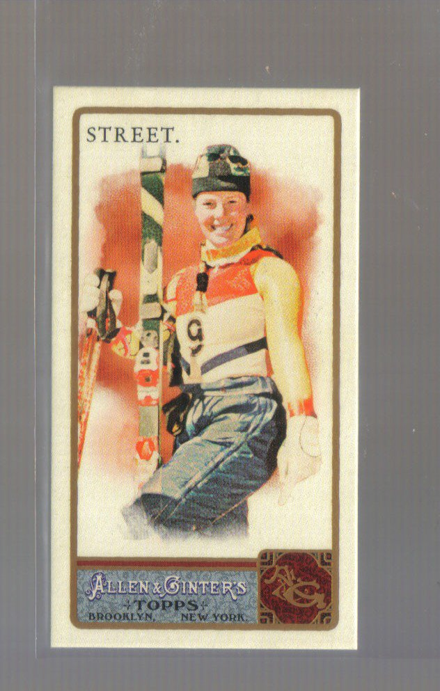 2011 Topps Allen & Ginter Mini A&G Back  #232  PICABO STREET   Skiing