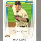 2011 Bowman Prospects  #7  RYAN CAVAN   Giants